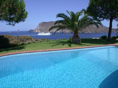 Vacaciones en Sicilia: Eolias Lipari Vulcano. Villas