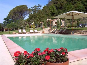 Villa mit Pool bei Volterra B&B